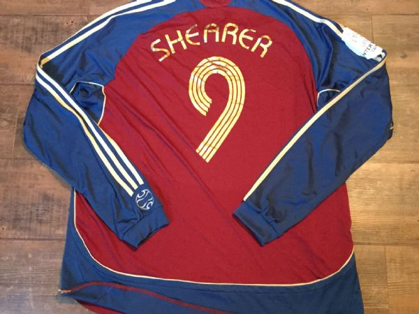 finest selection 72e86 a8c79 Alan Shearer Classic Football Shirts Vintage Retro Old ...